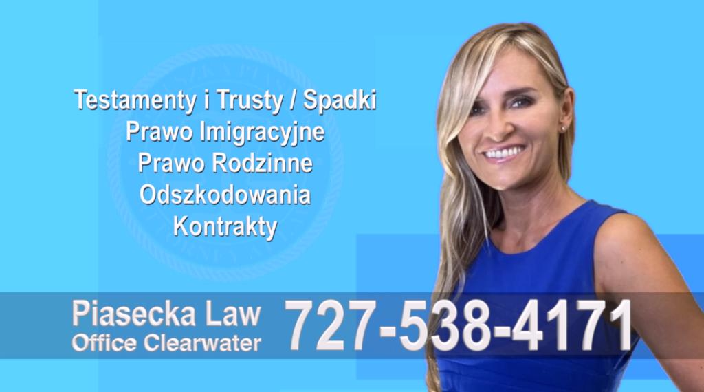 Polski, Prawnik, Adwokat, Floryda, USA, Florida, Polish, Attorney, Lawyer, Agnieszka Piasecka, Aga Piasecka, Piasecka Law, Piasecka